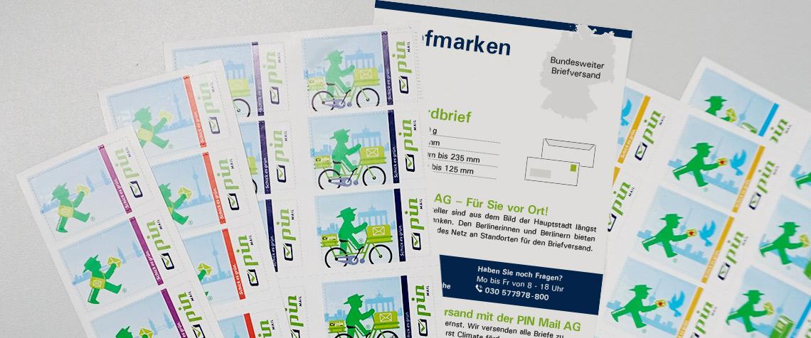 PIN Ampelmannbriefmarke