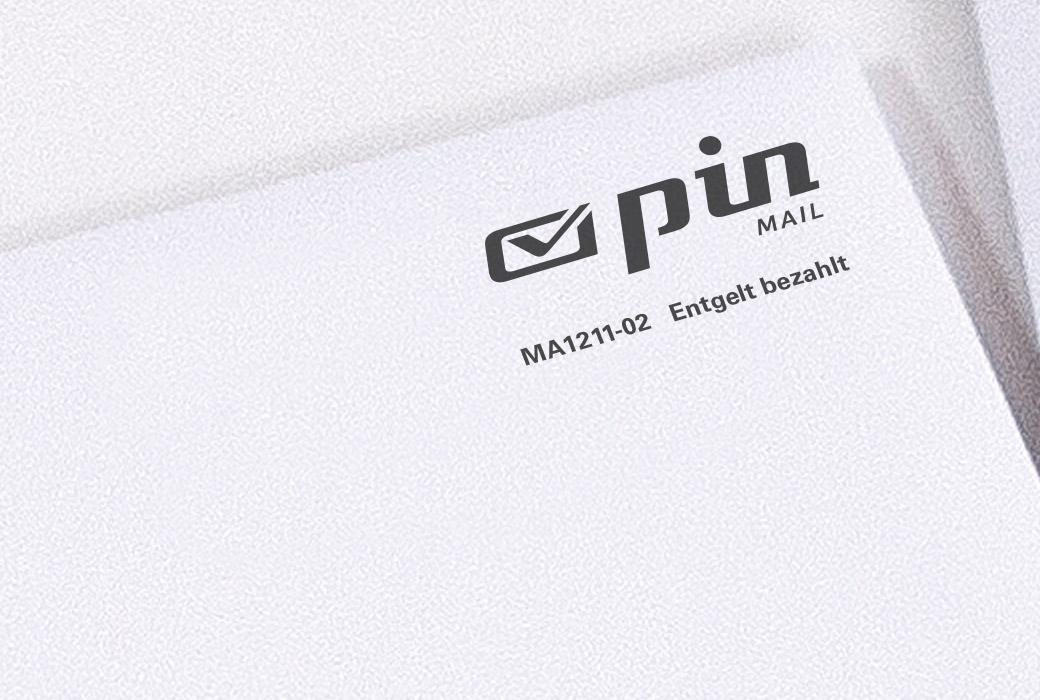 PIN- Freimachungsvermerk für Werbepost