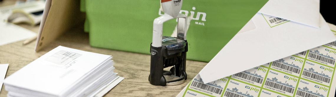 Stempel, Prelabel und Produkte der PIN