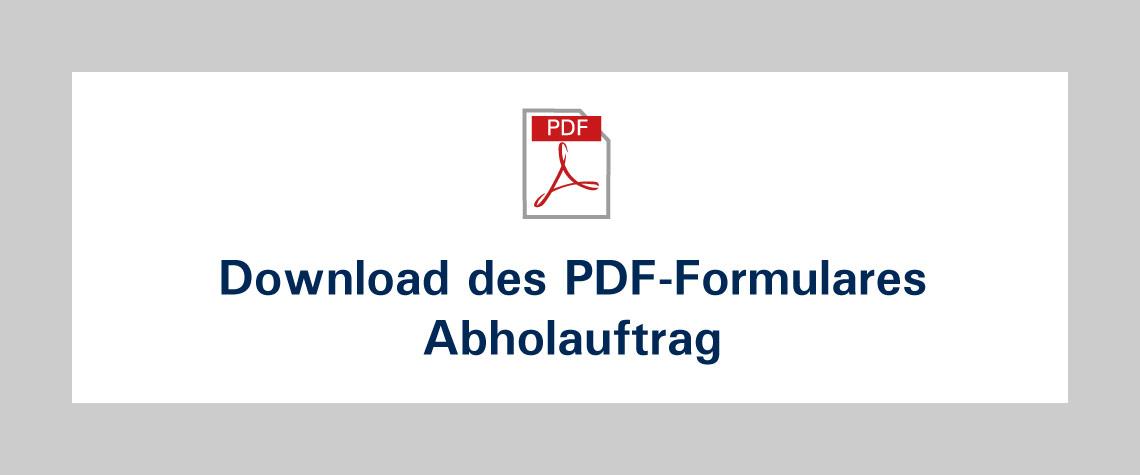Kachel Download Formular Abholfauftrag