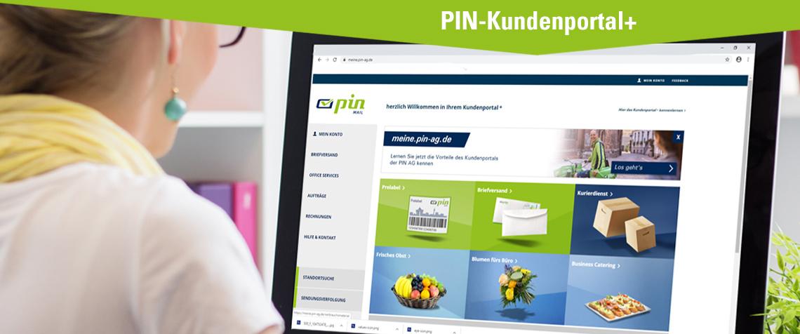 PIN Kundenportal+ am Computer