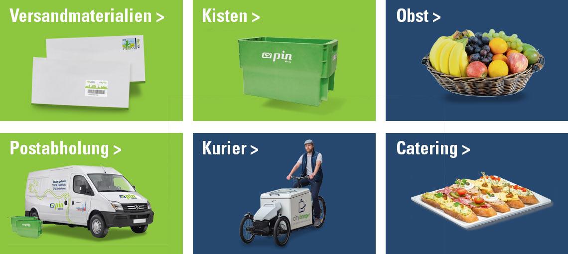 PIN Kundenportal+ Services