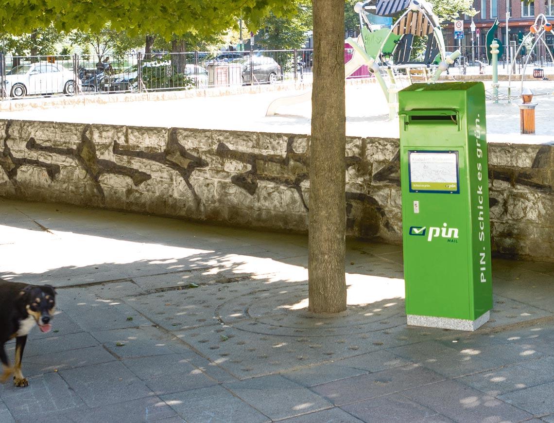 Briefkästen, PartnerShops, Depots   PIN AG