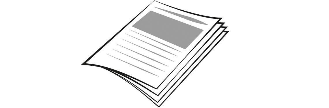 Icon Pressesendung - Magazin - PIN AG