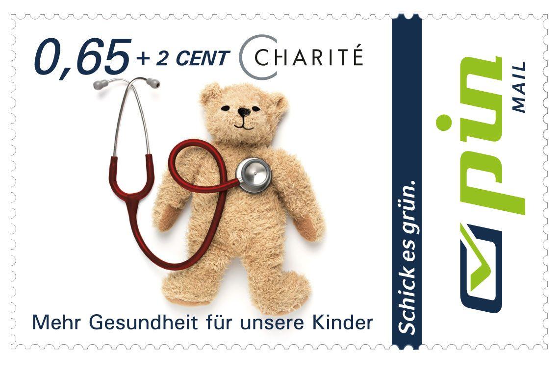 Charité Spendenbriefmarke 0,58 + 1 Cent