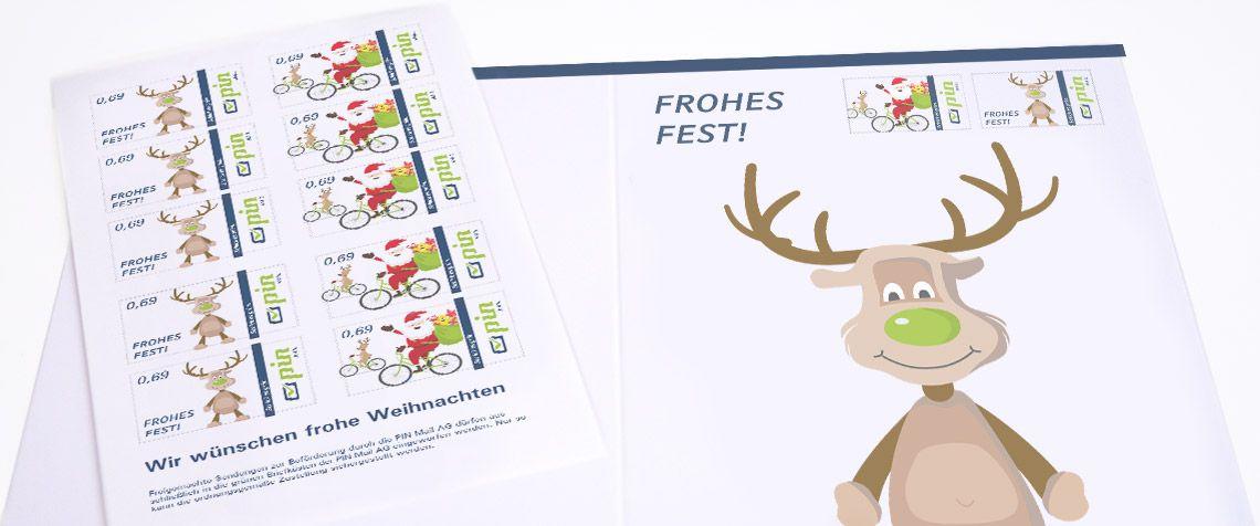 PIN Weihnachtsbriefmarke