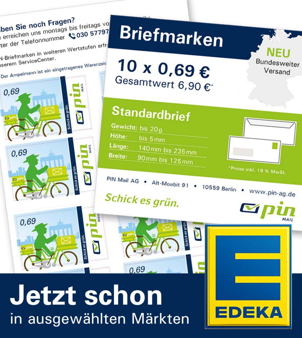 Briefmarkenbogen Standarbrief - 10er Set