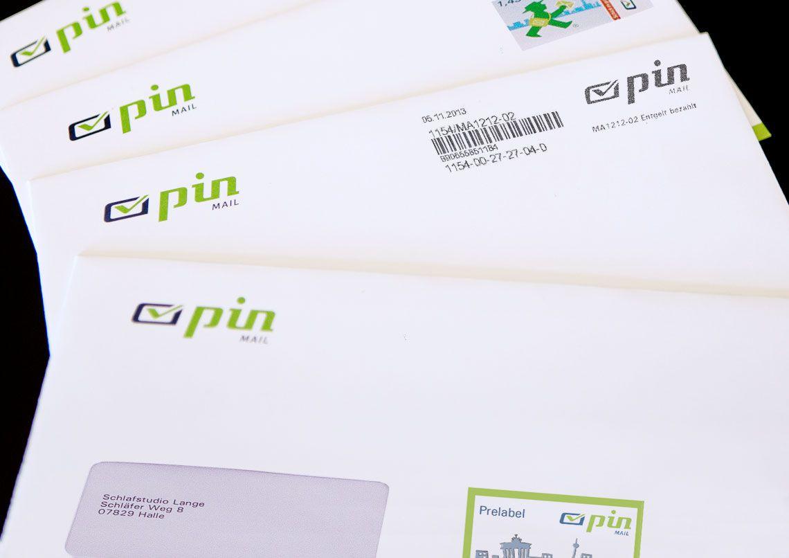 Einfache Frankierung Ihrer Geschäftspost Pin Mail Ag