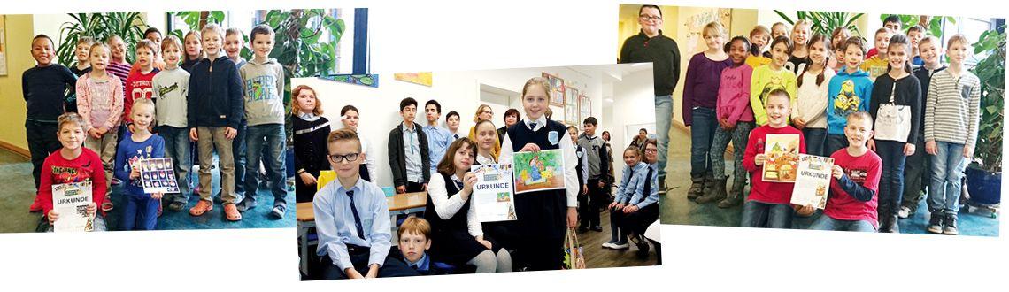 Gewinnerklassen PIN macht Schule 2015