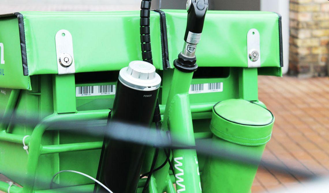 PIN Fahrrad mit Pendix-Elektroantrieb