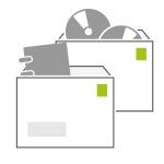 Icon Bücher- und Warensendung Kompakt der PIN Mail AG