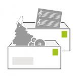 Icon Bücher- und Warensendung der PIN Mail AG